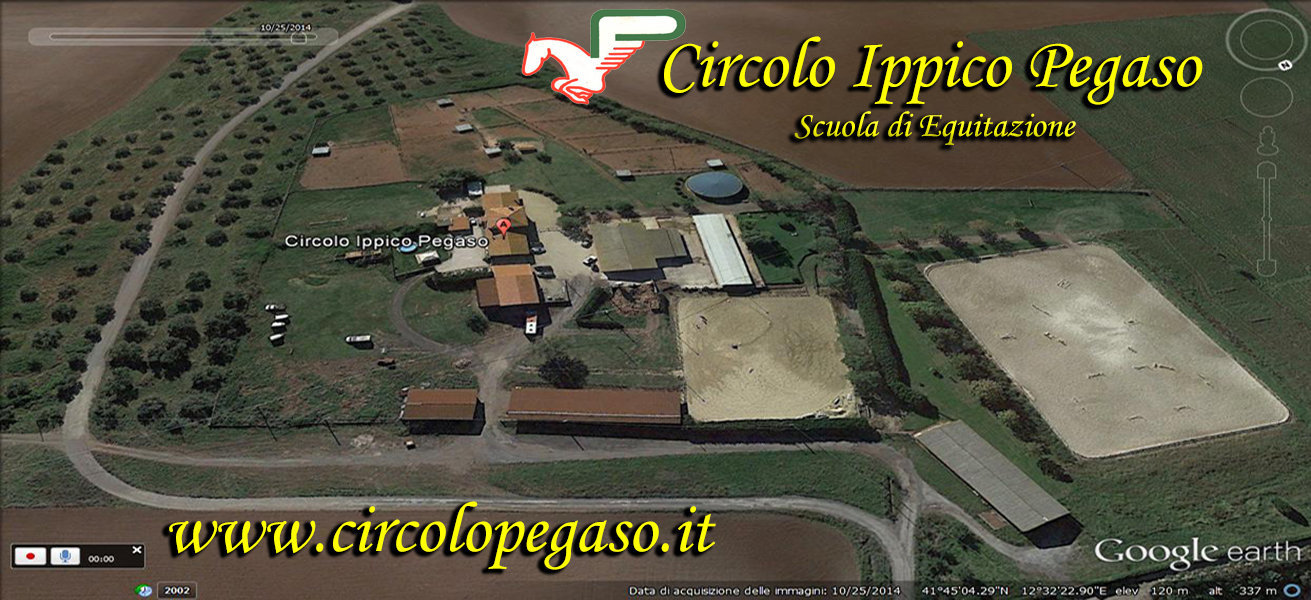 MANEGGIO PEGASO ROMA GOOGLE EARTH